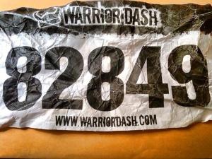 Warrior Dash 2011 Bib