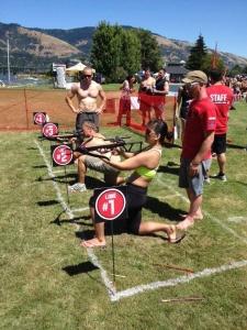 Hybrid Adventure Games 2012 Decathlon - Archery Event